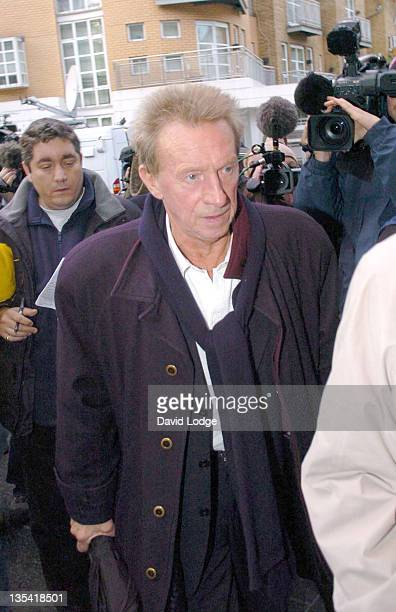 Dennis Law during George Best Hospitalized November 24 2005 at Cromwell Hospital in London Great Britain