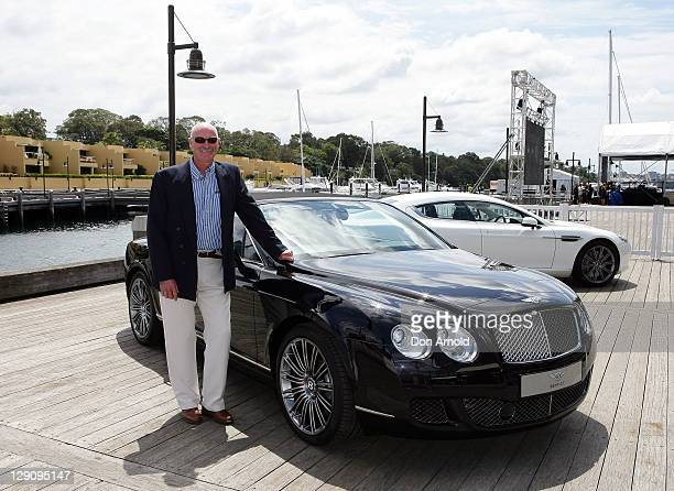 Dennis Lillee arrives at the Wharf4Ward cancer fundraiser on October 13 2011 in Sydney Australia