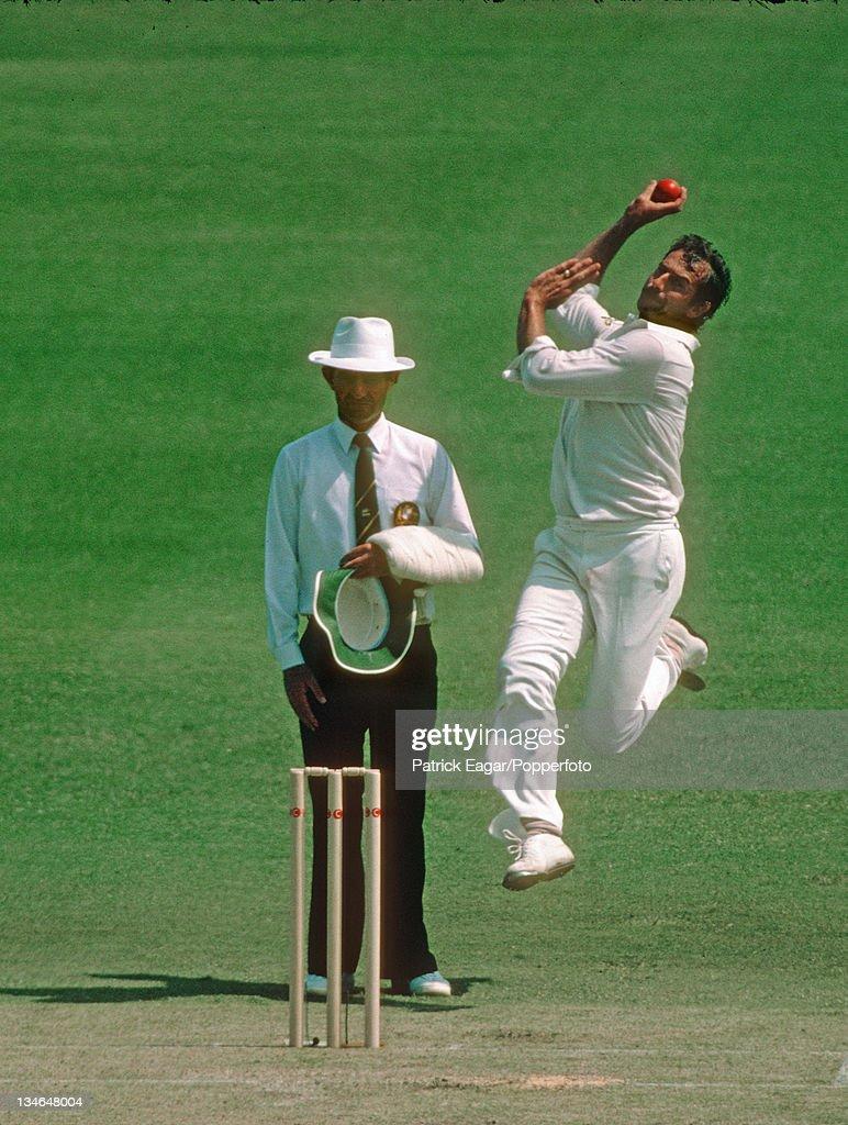 Australia v England, 1st Test, Perth, November 1982-83 : News Photo