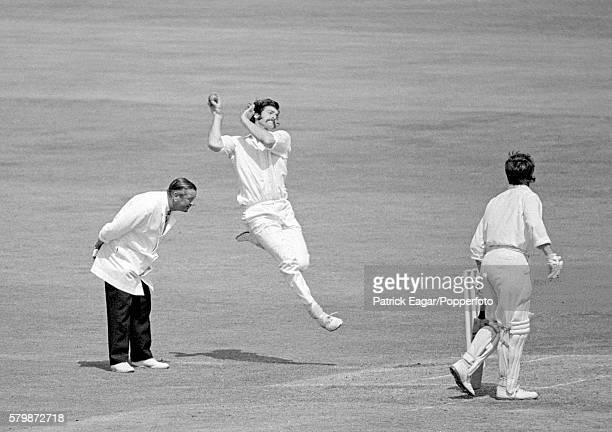 Dennis Lillee bowling for Australia during the 3rd Test match between England and Australia at Trent Bridge Nottingham 17th July 1972