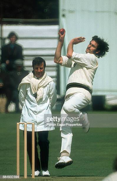 Dennis Lillee bowling for Australia during the Australian Tour of England circa May 1972