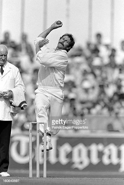 Dennis Lillee bowling, ODI England v Australia at The Oval 1980
