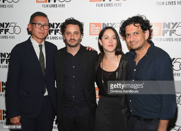 Dennis Lim Gastón Solnicki Director Dominga Sotomayor and CarlosGutierrez attend Too Late To Die Young Photo Call and QA at The Film Society of...