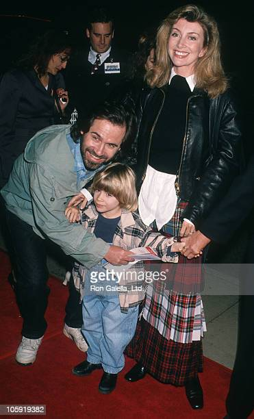 Dennis Miller Ali Epsley and Holden Miller during Dumb and Dumber Hollywood Premiere at Cinerama Dome Theater in Hollywood California United States