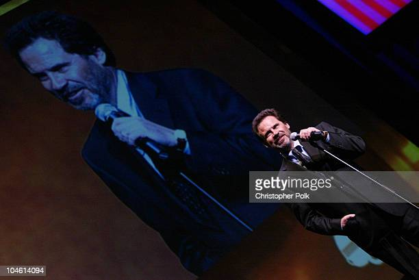 Dennis Miller during 4th Annual Golden Trailer Awards at Orpheum Theatre in Los Angeles CA United States