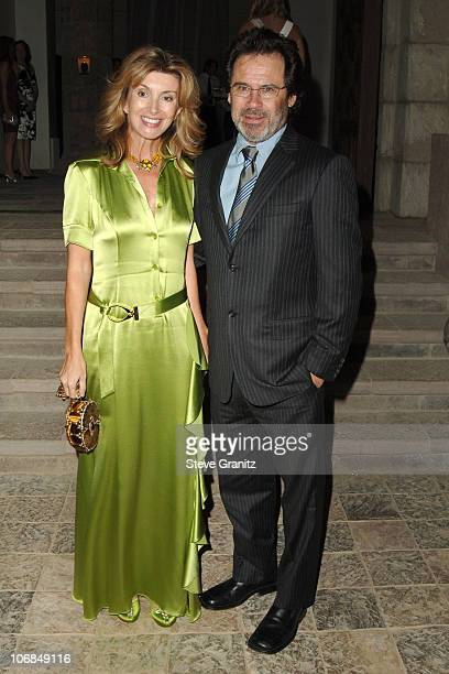 Dennis Miller during Gucci Spring 2006 Fashion Show to Benefit Children's Action Network and Westside Children's Center Arrivals at Home of Eva and...