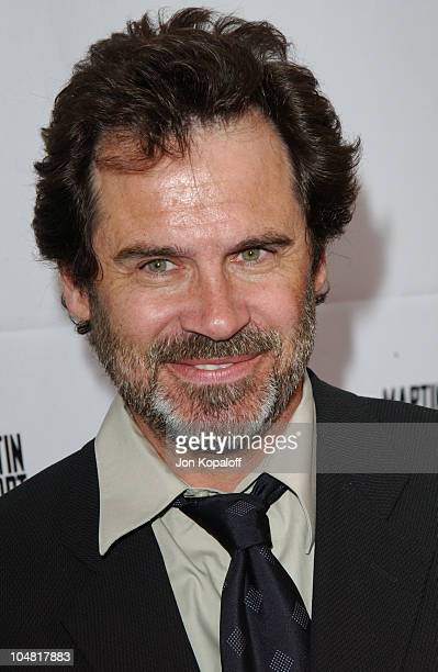 Dennis Miller during Opening Night of The Producers at Pantages Theatre in Hollywood California United States