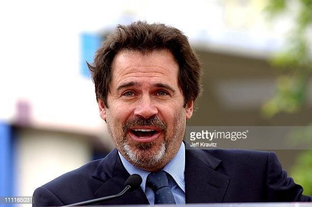 Dennis Miller during Stars Turn Out To Celebrate Bob Hope's 100th Birthday at Hollywood Entertainment Museum in Hollywood CA United States