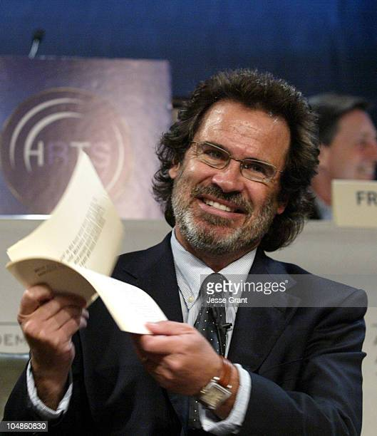 Dennis Miller during The Network Presidents Newsmaker Luncheon October 26 2005 at The Regent Beverly Wilshire Hotel in Los Angeles California United...