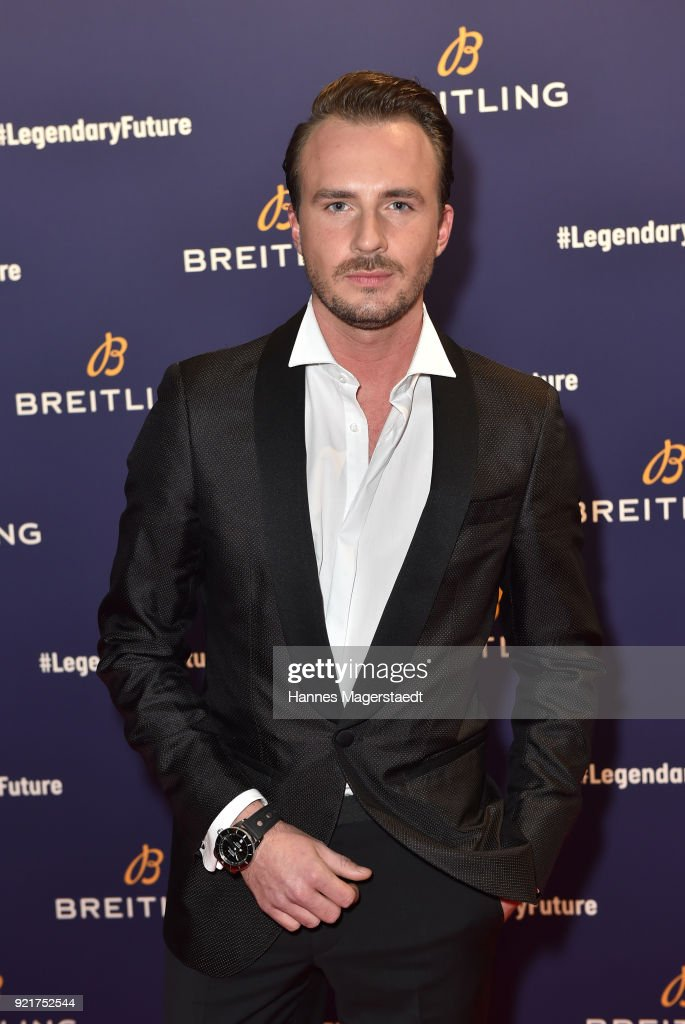 Dennis Mitchell during the Breitling Roadshow '#LEGENDARYFUTURE' Navitimer 8 at Freiheizhalle on February 20, 2018 in Munich, Germany.