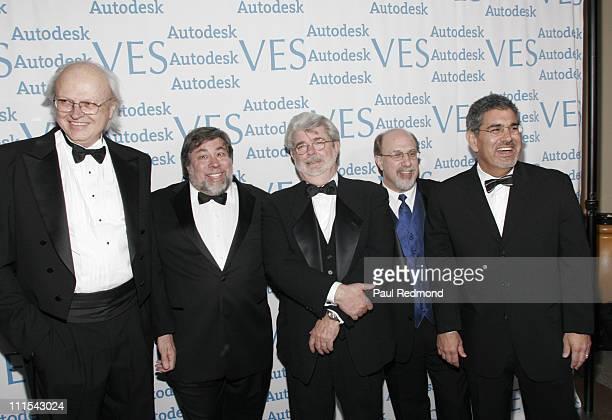 Dennis Muren Steve Wozniak George Lucas Eric Roth and guest
