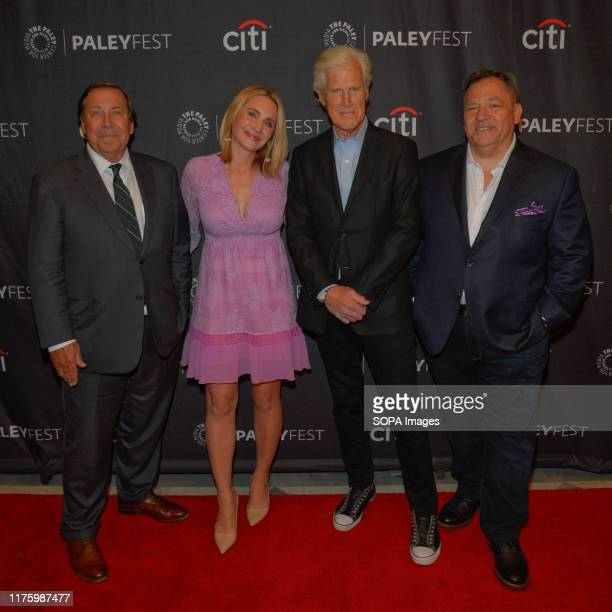 Dennis Murphy Andrea Canning Keith Morrison and Josh Mankiewiez attend a screening of Dateline NBC during the PaleyFest New York 2019 at The Paley...