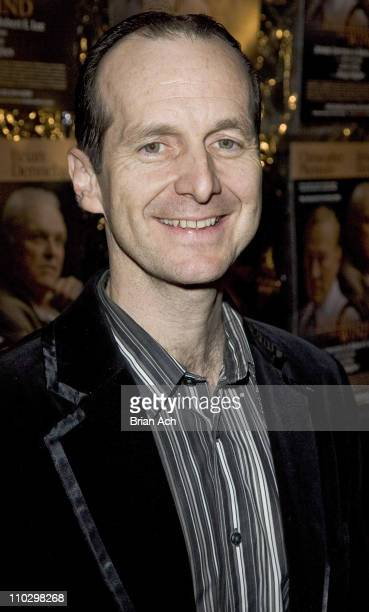 Dennis O'Hare during 'Inherit the Wind' Opening Night on Broadway After Party at Bryant Park Grill in New York City New York United States