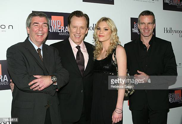 Dennis Phillips James Woods Ashley Madison and Matthias Breschan at the Hamilton Behind the Camera Awards Hosted by Hollywood Life at The Highlands...