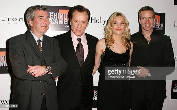 Dennis Phillips, United States Brand Manager for Hamilton Watches, actor James Woods, actress Ashley Madison and Matthias Breschan attend the Fifth...