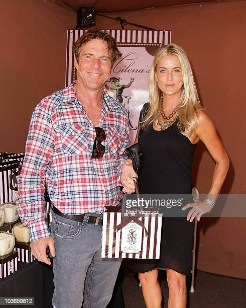 Dennis Quaid and his wife Kimberly attend the 6th annual DPA preEmmy gift suite day 1 at The Sunset Tower Hotel on August 26 2010 in West Hollywood...