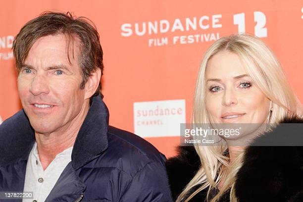 Dennis Quaid and Kimberly Quaid attend The Words Premiere during the 2012 Sundance Film Festival on January 27 2012 in Park City Utah
