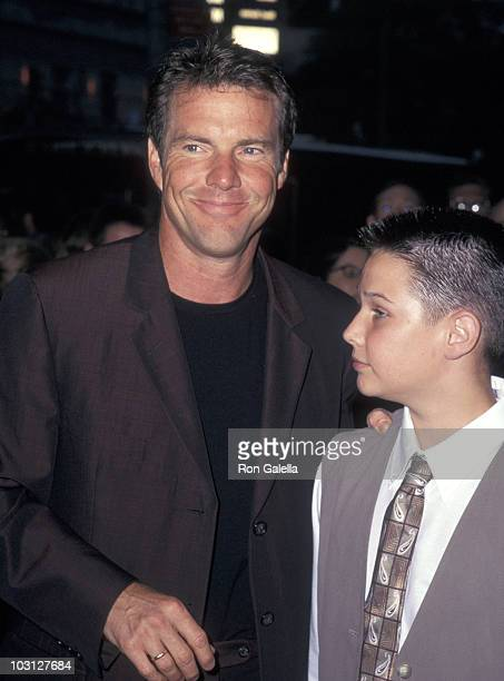 Dennis Quaid and Ryan Merriman