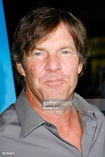 Dennis Quaid arrives to the 'One Peace At A Time' a Los Angeles benefit screening held at ArcLight Cinemas on October 21 2009 in Hollywood California