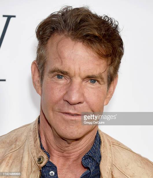 Dennis Quaid arrives to the premiere of Universal Pictures' A Dog's Journey at ArcLight Hollywood on May 9 2019 in Hollywood California