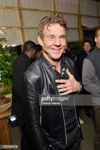 Dennis Quaid attends FIJI Water At Republic Records 2020 Grammy After Party on January 26 2020 in West Hollywood California