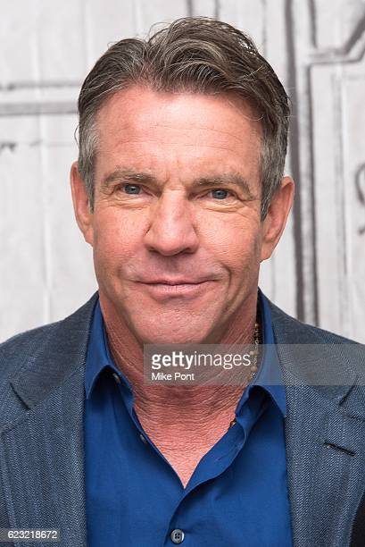 "Dennis Quaid attends The Build Series to discuss ""The Art Of More"" at AOL HQ on November 14, 2016 in New York City."
