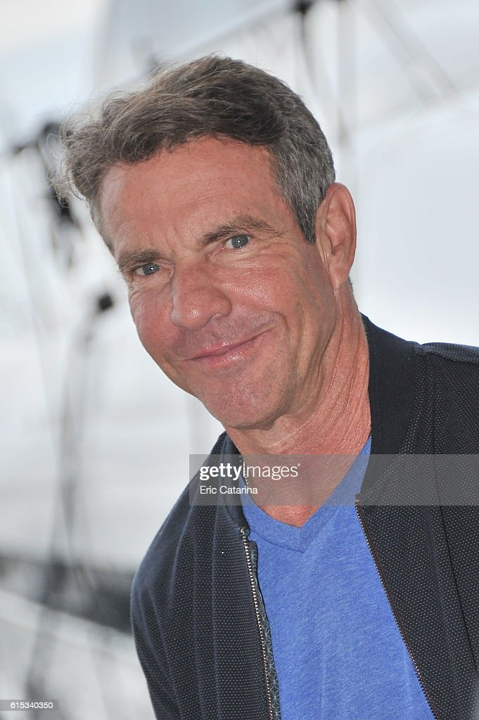 Dennis Quaid attends the Fortitude 2 photocall during MIPCOM 2016 at Palais des Festivals on October 17, 2016 in Cannes, France.