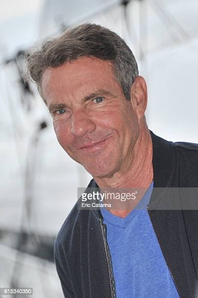 Dennis Quaid attends the Fortitude 2 photocall during MIPCOM 2016 at Palais des Festivals on October 17 2016 in Cannes France
