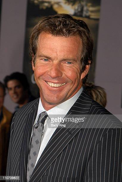 Dennis Quaid during 'Cold Creek Manor' Premiere at El Capitan Theatre in Hollywood California United States
