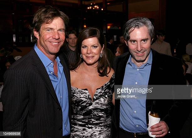 Dennis Quaid Marcia Gay Harden and Paul Weitz Writer Director