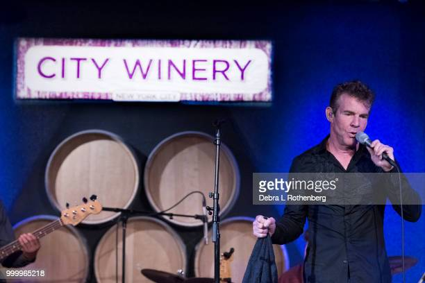 Dennis Quaid performs live in concert at City Winery on July 15 2018 in New York City