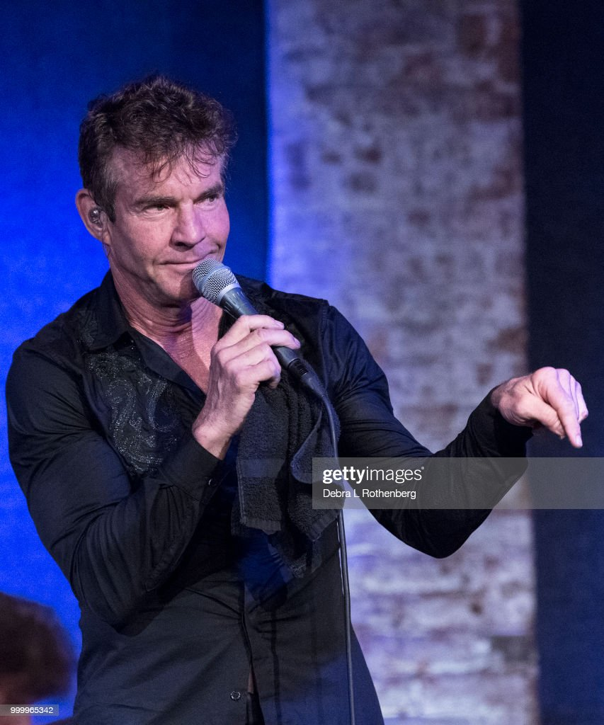 Dennis Quaid And The Sharks With Greta Keating In Concert - New York, NY
