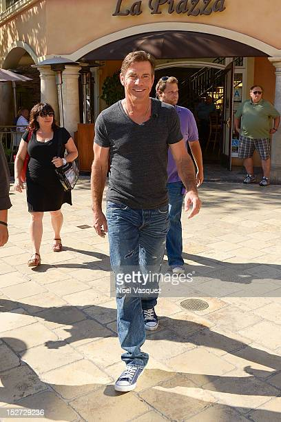 Dennis Quaid sighting at The Grove on September 24 2012 in Los Angeles California