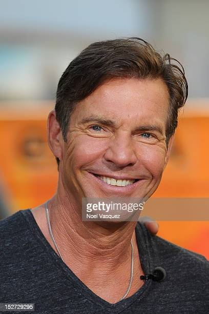 Dennis Quaid visits Extra at The Grove on September 24 2012 in Los Angeles California