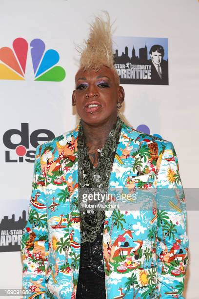 "Dennis Rodman attends ""All Star Celebrity Apprentice"" Finale at Cipriani 42nd Street on May 19, 2013 in New York City."