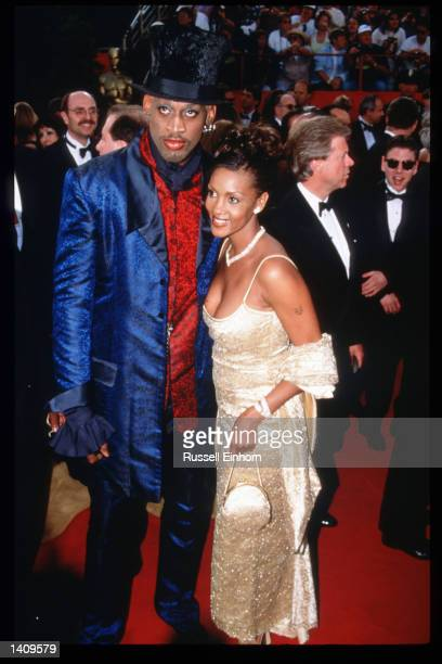 Dennis Rodman attends the 69th Annual Academy Awards ceremony March 24 1997 in Los Angeles CA