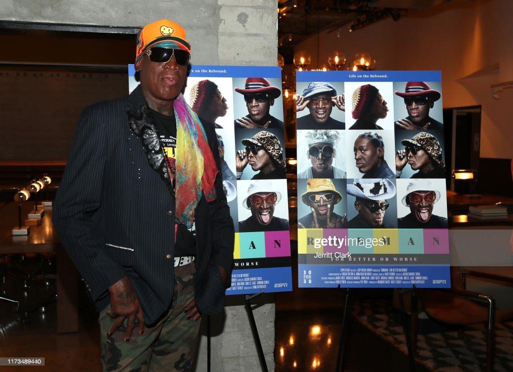 "LA Special Screening Of ESPN's ""30 for 30"" - Arrivals : News Photo"