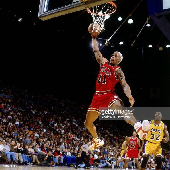 Chicago Bulls Vs. Los Angeles Lakers Pictures