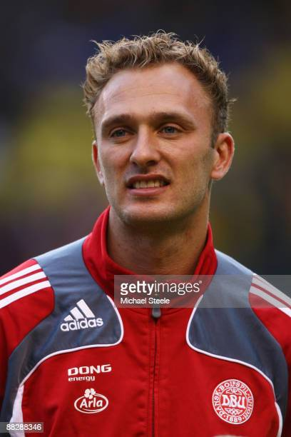 Dennis Rommedahl of Denmark during the FIFA2010 World Cup Qualifying Group 1 match between Sweden and Denmark at the Rasunda Stadium on June 6 2009...