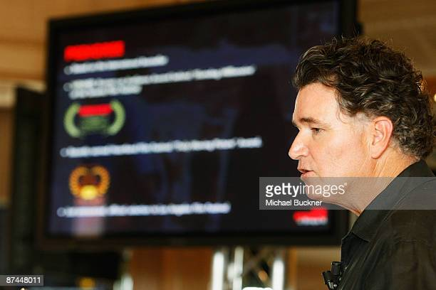 Dennis Ross attends the Mpower Pictures Launch Party during the 62nd International Cannes Film Festival on May 17 2009 in Cannes France