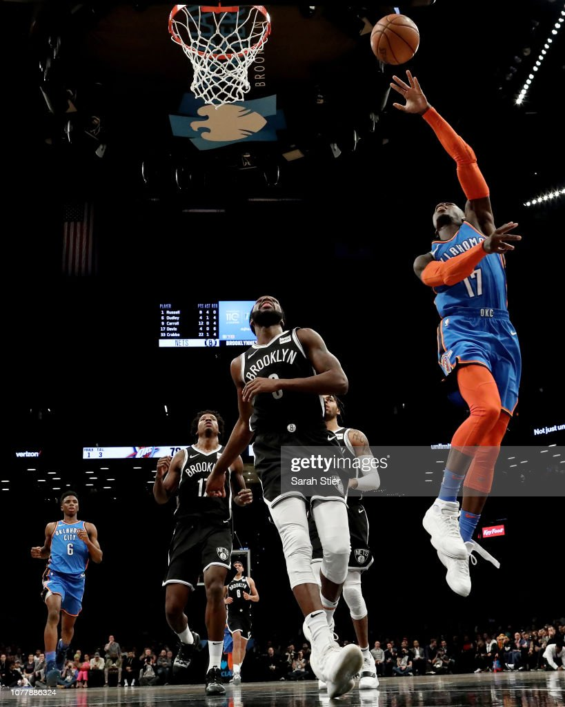 Oklahoma City Thunder v Brooklyn Nets : Nachrichtenfoto