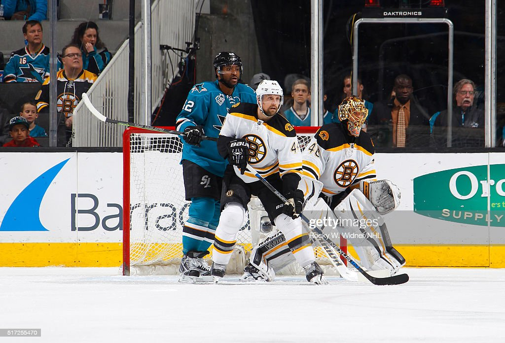 Boston Bruins v San Jose Sharks : News Photo