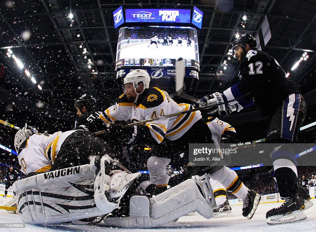 Boston Bruins v Tampa Bay Lightning - Game Three