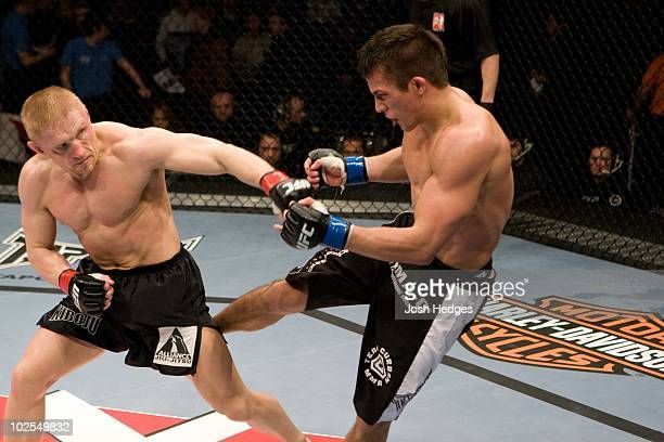 Dennis Siver def Nate Mohr TKO 327 round 3 during the UFC 93 at O2 arena on January 17 2009 in Dublin Ireland