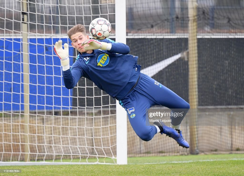 DEU: Hertha BSC vs KSV Holstein - Bundesliga test match