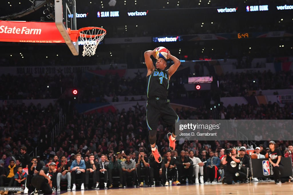Verizon Slam Dunk Contest 2018 : News Photo