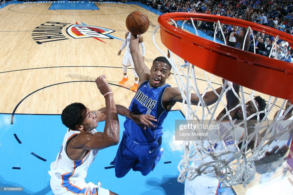 Dallas Mavericks v Oklahoma City Thunder : News Photo