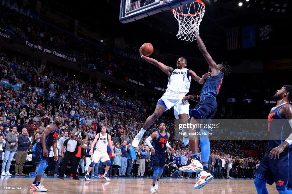 Dallas Mavericks v Oklahoma City Thunder : News Photo