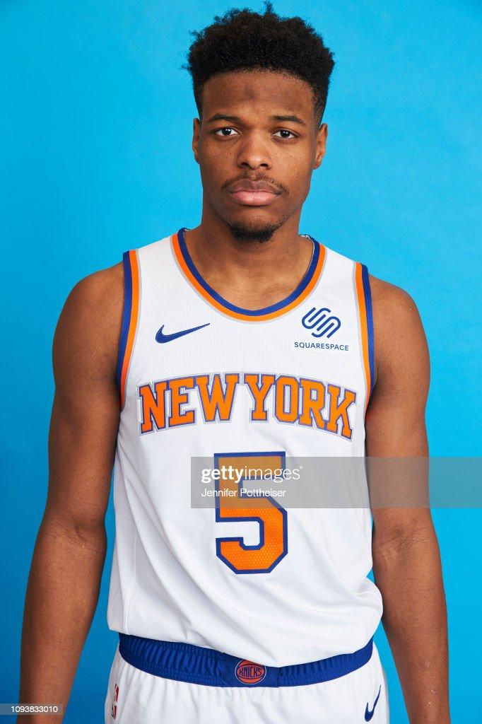 New York Knicks New Player Portraits : News Photo