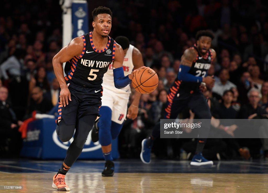 Detroit Pistons v New York Knicks : News Photo